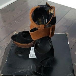 Multi buckle sandals